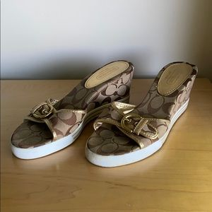 Coach Wedges - Size 8